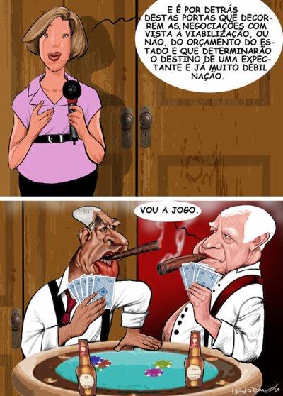 A discutir o orçamento de estado...