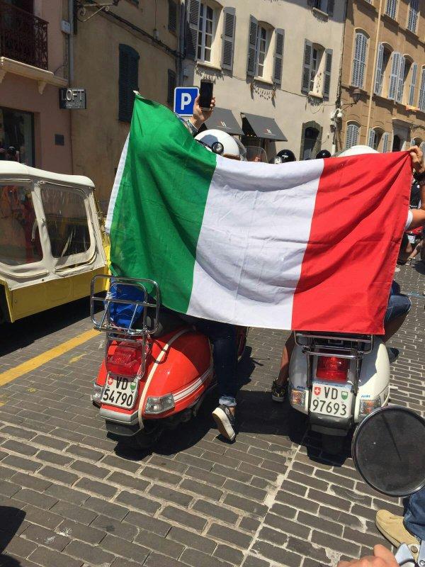 Vespa world days Saint -Tropez 2016