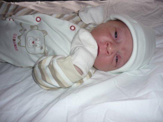 Noah a la maternité