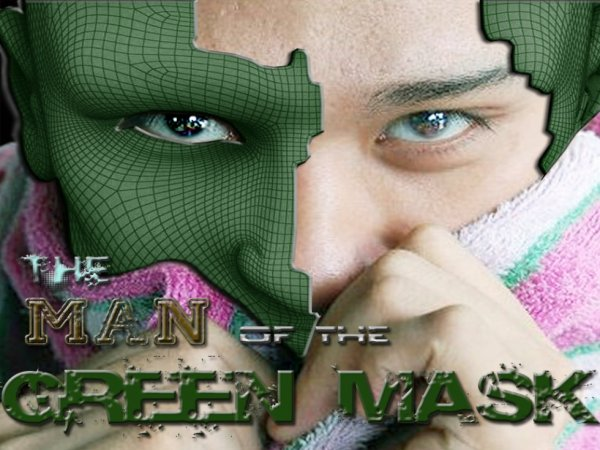 THE MAN OF THE GREEN MASK