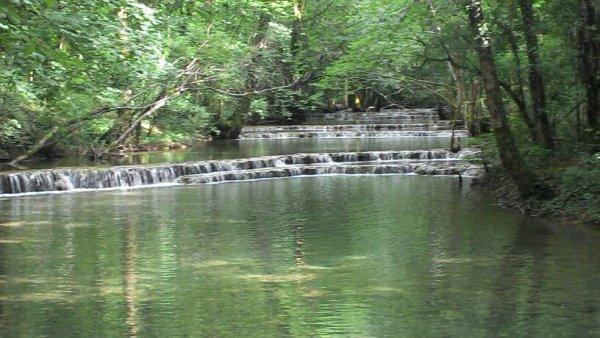 Cascades des tufs au planches pres d'arbois