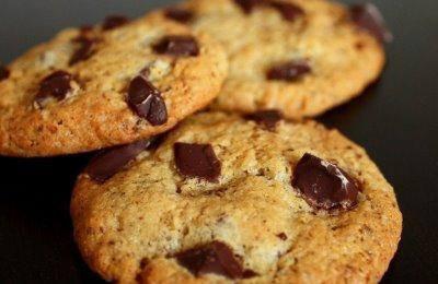 biscuits aux éclats de chocolat