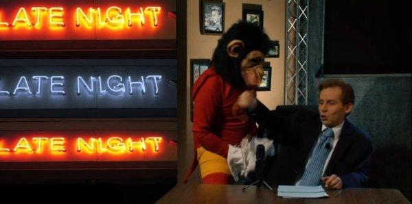 Ted Kaput sendo atacado pelo Macaco Punheteiro