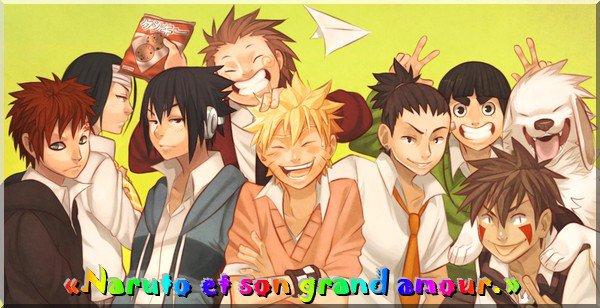 «Naruto et son grand amour.» Résumer