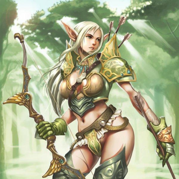 Archère elfe