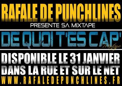 « RAFALE DE PUNCHLINES » presente la mixtape « DE QUOI T'ES CAP' »