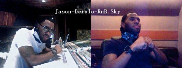 2 nouvelles chansons de Jason Derulo + Nouvelles photos en studio etc..