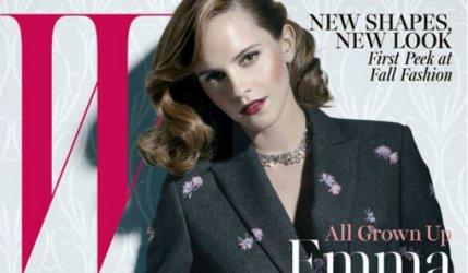 Emma Watson pose pour le magazine W