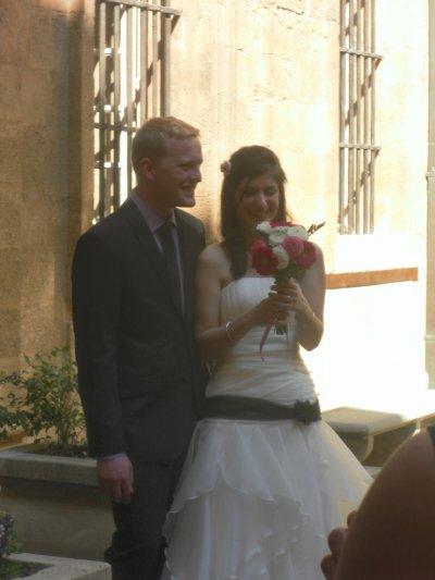 Mariage de ma cousine a Aix-en-Provence