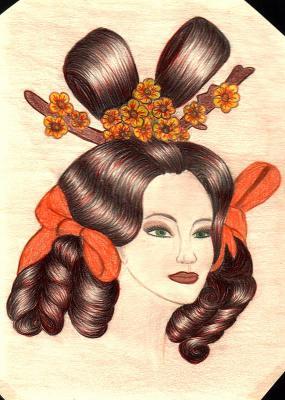 dessin d'Aurore (CAP coiffure première année) - ☆ ☆ Bl0g d£ M0 ...