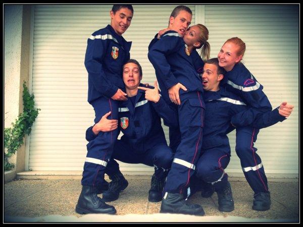 Tous liés par une et même passion : Sapeur Pompier ! Une grande famille est née