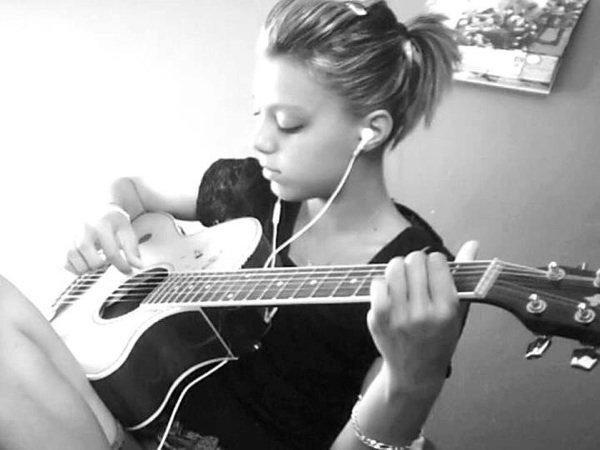 La musique, je crois que c'est tout ma vie ...