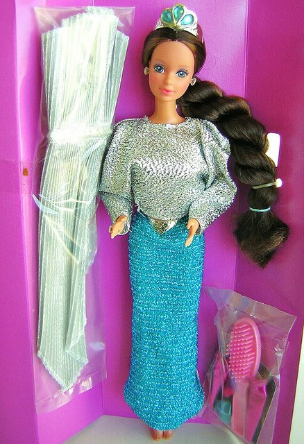 1986 Barbie whitney jewel secret