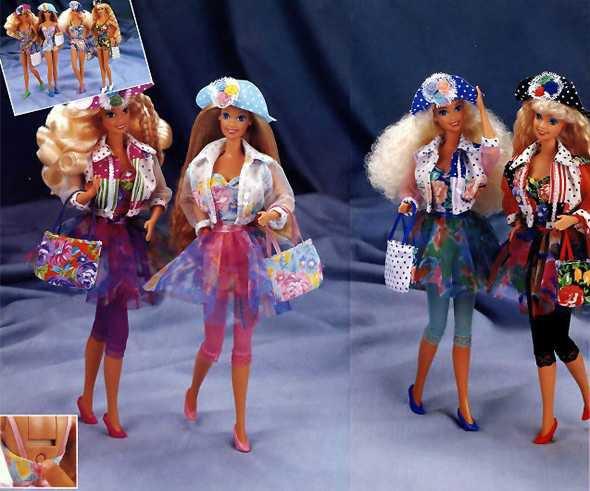 1993 Barbie qui te parle ou teen talk 5 euros les deux