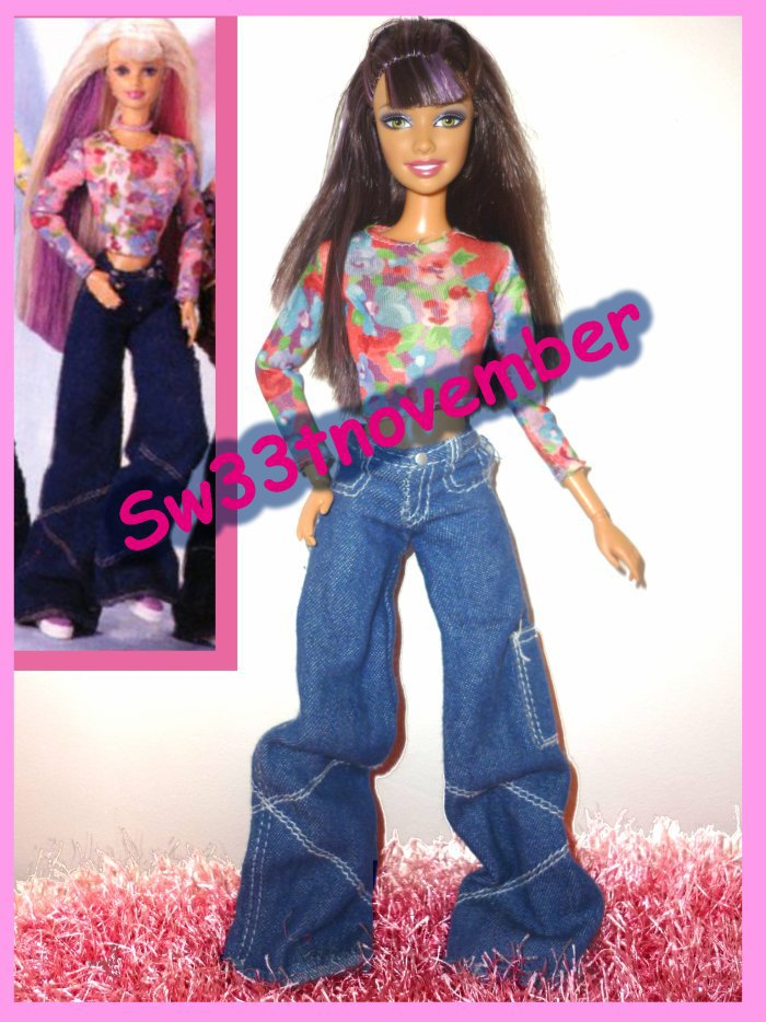 1998 Barbie happenin hair 3 euros