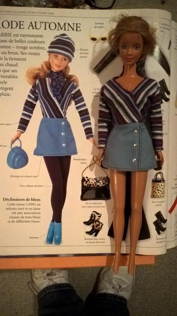 1999 barbie  Corduroy Cool
