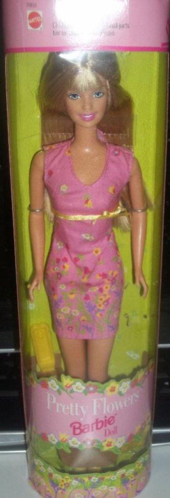1999 Pretty Flowers Barbie 1 euro