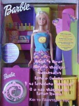 2001 Barbie Laverie magique 1 euro
