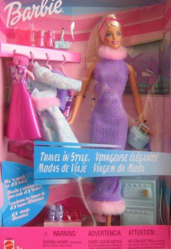 2001 Barbie travel in style donnée à anais (offerte à une amie)