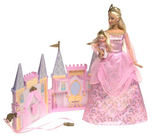 2003 Barbie and Krissy Princess Palace Playset 5 euros