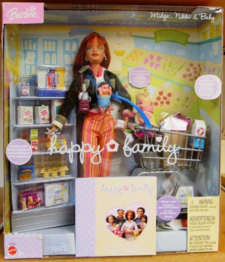 2003 Midge happy family seule série que je garde