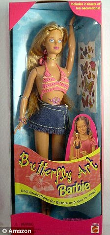 barbie butterfly 1996 2 euro