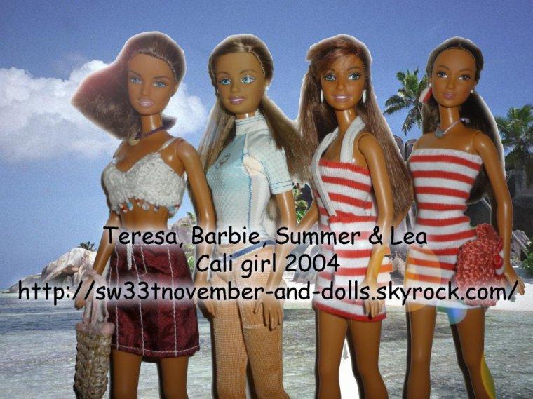 Barbie Cali girl 2001 le tout pour 20 euros