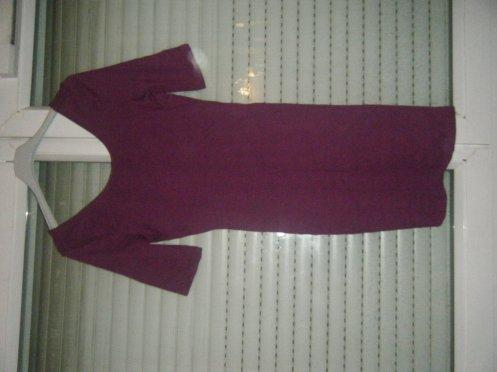 Robe moulante Violette
