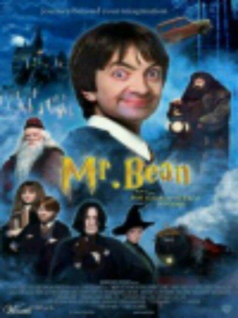 Mr. Bean a l'ecolier des sorcier.
