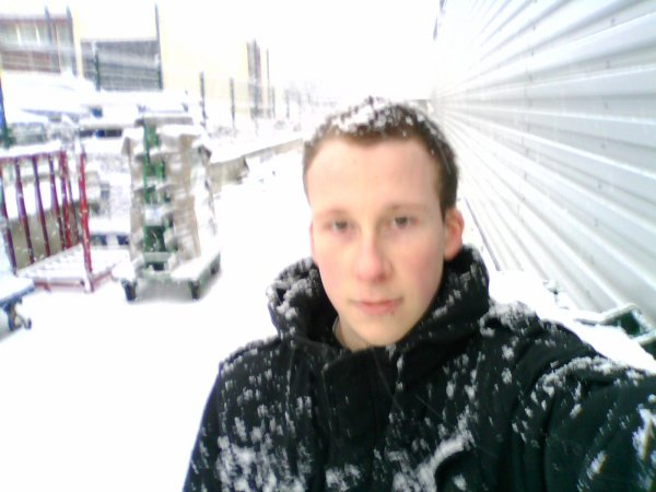 moi et la neige