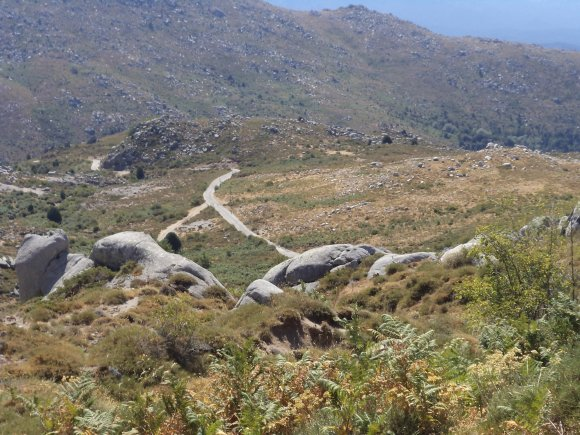 2012, le 1° août, une escapade jusqu'au plateau du Cuscionu.