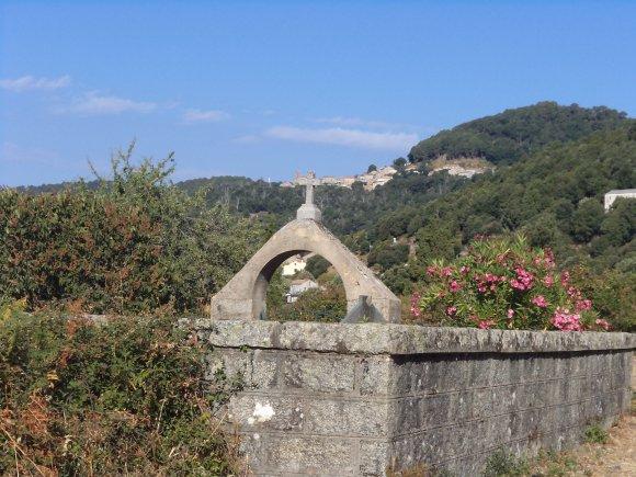2012, le 10 août, le col de la Vaccia : un royaume de pierraille.