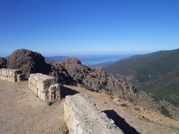 2012, le 28 août. Le col de Sui, un lieu de silence et de discrétion dans des paysages tourmentés.