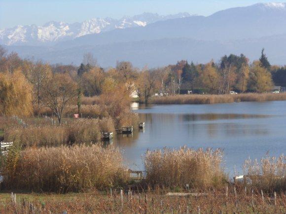 2012, le 14 novembre. Vagabondages entre le lac Saint André, ses vignobles et le Val Coisin.