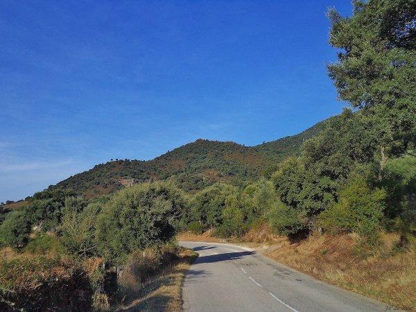 2013, le 31 août. Le col de Saint Eustache, un paysage tourmenté.