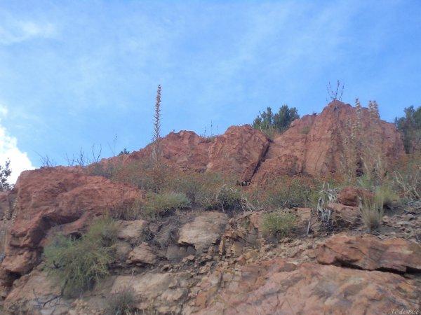 2013, le 31 août. Le col Saint Eustache, un paysage tourmenté, suite en images