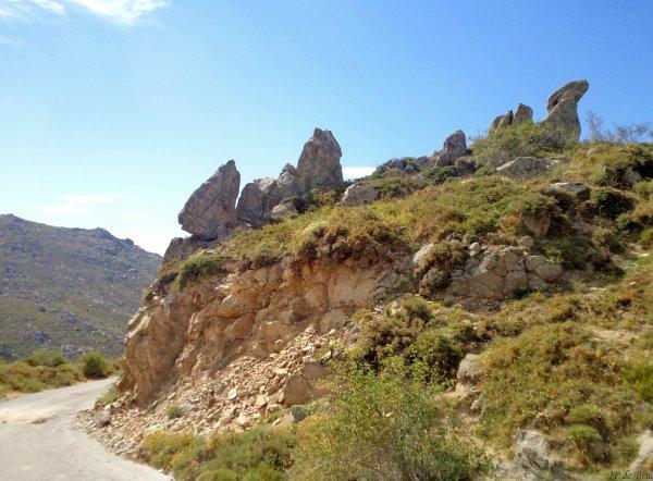2013, le 13 août. Le plateau du Cuscionu: une balade sur une autre planète ?