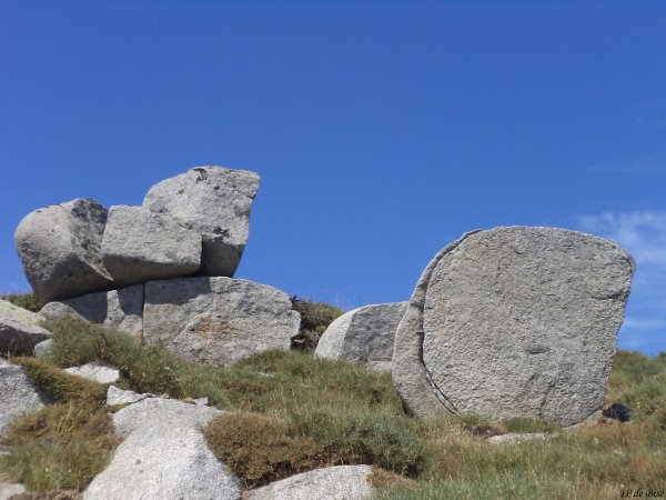 2013, le 13 août. Le plateau du Cuscionu, suite et fin en images.