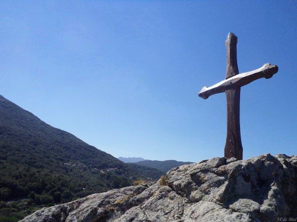 2013, le 3 septembre. Etape à Carbini, sur les traces de P Mérimée et des Giovannali.