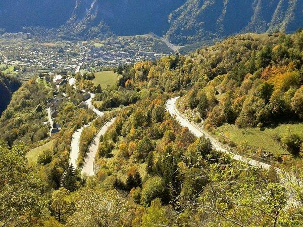 2014, le 18 octobre. La triologie, Alpe-d'Huez, col de Poutran, col de Sarenne