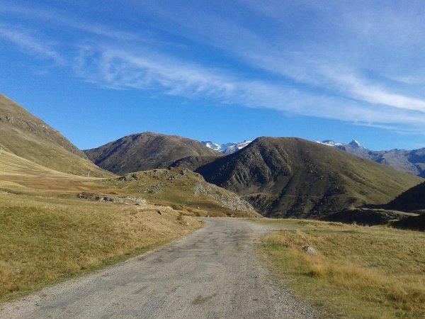 2014, le 18 octobre. La triologie, Alpe d'Huez, col de Poutran, col de Sarenne.