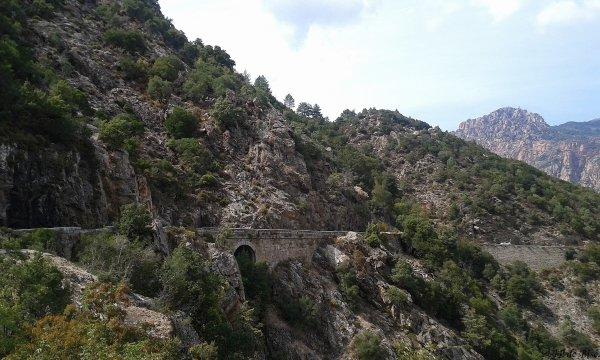 2015, le 10 septembre. Col de Sevi et magie des calanques de Piana.(1)