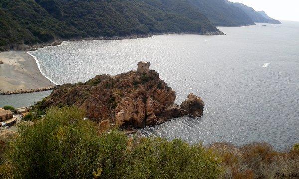 2015, le 10 septembre. Col de Sevi et magie des calanques de Piana. (3)