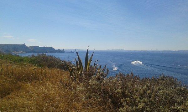 2016, le juillet. Bonifacio, une perle sur une mer d'émeraude