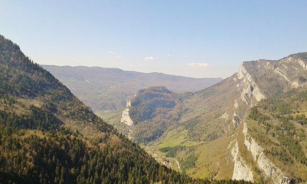 2017, le 23 avril. Le Vercors Quatre montagnes.