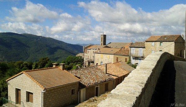 2017, le 1 juillet. La ronde des villages de l'Alta Rocca.