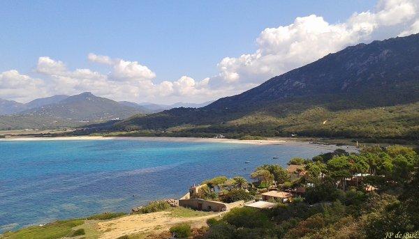 2017, le 27 septembre. Sartène, col di Giovanella, plage de Portigliolo, Lévie.