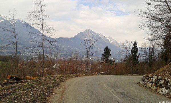 2018, le 26 mars. On titille le massif de Lauzière.