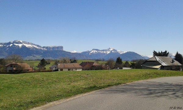 2018,le 6 avril. Six cols inédits autour d'Annecy