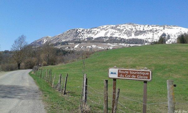 2018, le 21 avril. Les cols du Champsaur.